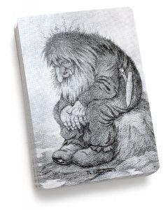 Troll Wondering Playing Cards