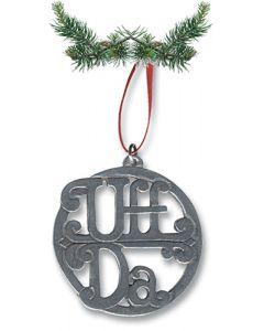 Uff Da Pewter Ornament