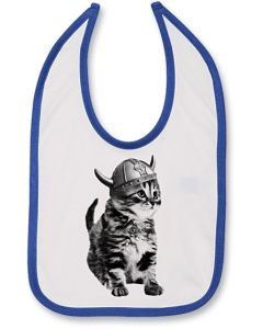 Viking Kitty Bib