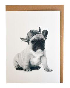 Viking Puppy Card