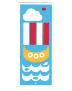 Tall Viking Ship Sticker