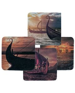 Viking Ship Coasters