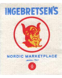 Vintage Viking Cellulose Dishcloth