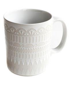 Gala White Mug