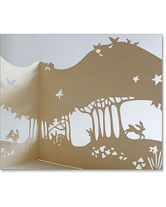 Wild Plum Thicket Die Cut