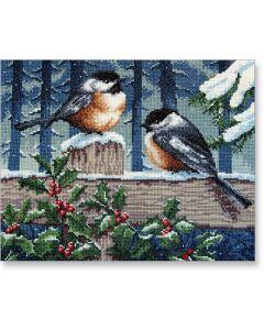 Winter Birds Cross-stitch Kit