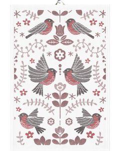 Winter Birds Towel