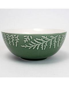 Wintergrove Green Serving Bowl