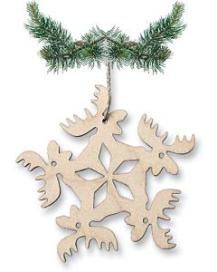 Circle of Moose Ornament