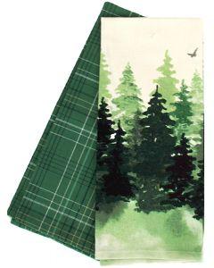 Woods Dishtowels Set