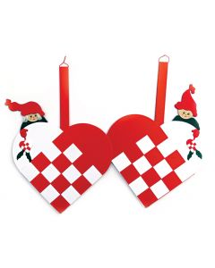 Woven Heart Baskets Die-Cuts