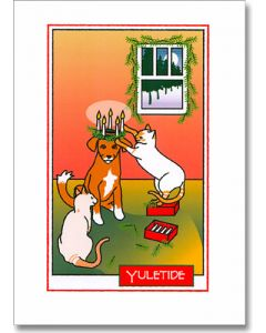 Lucia Yuletide Greeting Card