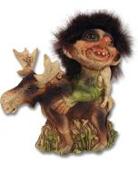 Troll Riding on a Moose