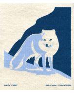 Arctic Fox Dishcloth