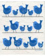 Birds on a Wire Dishcloth