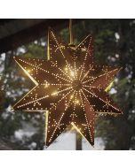 Brass Window Star