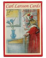 Carl Larsson Notecards in Red Sleeve