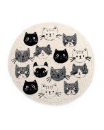 Cat's Meow Braided Trivet