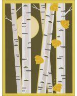 Cindy Lindgren Card - Moonlight Birch