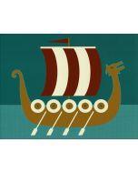 Cindy Lindgren Card - Viking Ship