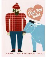 I Got You Babe Valentine Card