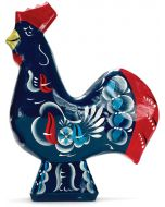"""4"""" Blue Dala Rooster"""