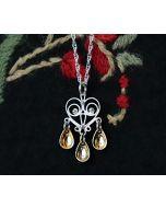 Elegant Heart Sølje Necklace