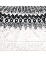 Hekla White Wool Napkins