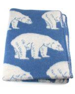 Lillunn Blanket Blue Bear