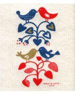 Lovebirds Dishcloth