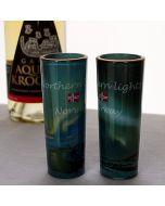 Northern Lights Liqueur Glasses