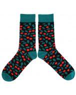 Organic Cotton Lingonberry Socks