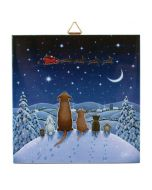 Animals' Christmas Eve Tile