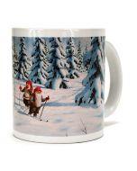 Tomtar Skiers Mug