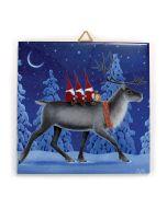 Tomtar on Reindeer Tile