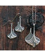 Viking Ship Necklace & Earrings