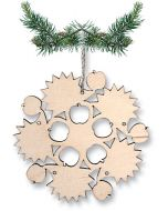 Circle of Hedgehogs Ornament