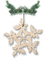Circle of Moose Ornament