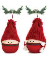 Roly-poly Tomtar Ornaments