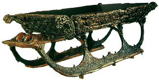 Oseberg burial site treasure