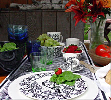 From iittala of Finlandu0027s Klaus Haapaniemi Taika combines colorful exuberant folkloric design with clean simple Nordic form. : iittala taika dinnerware - pezcame.com