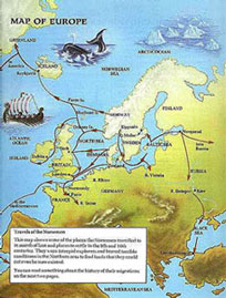 Viking Exploration Map