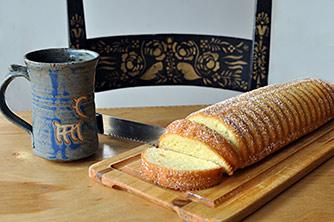 Almond Sponge Cake Recipe from The Nordic Cookbook