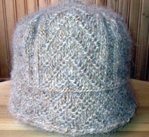 Twined Knitted Hat