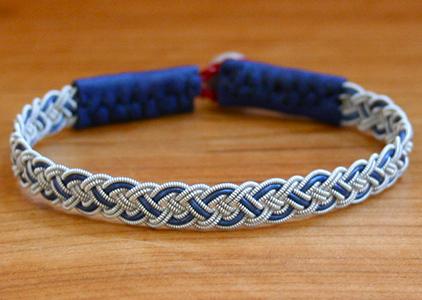 Four Braid Color Band Bracelet