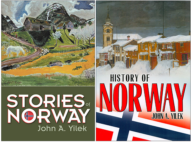 John-Yilek-Norway-Books