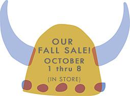 Fall Sale 2016
