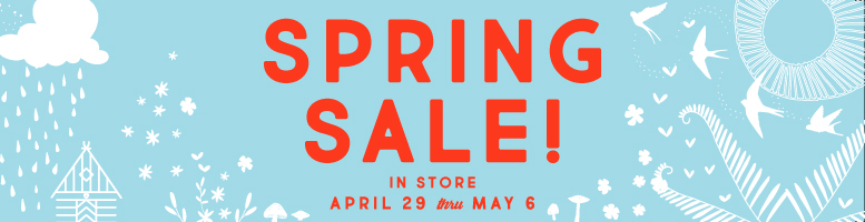 Spring Sale 2017 Page