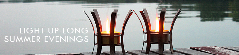 Summer Evenings with Outdoor Candles